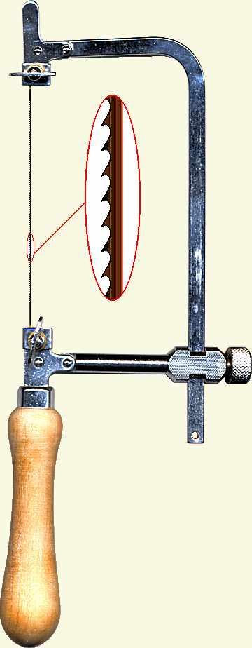 Jeweler\'s \'piercing saw\'