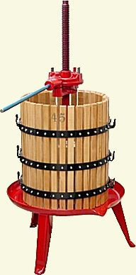 Presses for extracting honey from honeycomb for Home wine press