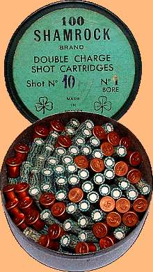 Cartridges for Garden Guns and Walking Stick Guns
